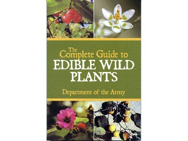 Books The Complete Guide to Edible Wild Plants