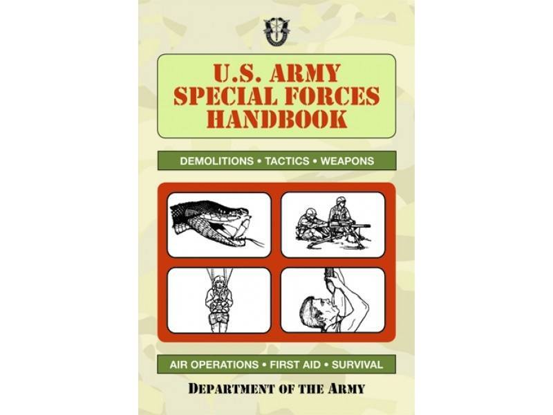 Books US Army Special Forces Handbook