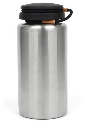 Nalgene WM Bottle Standard 1 L, Stainless
