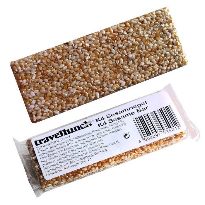 Travellunch Sesambar (gluten / lactose free)