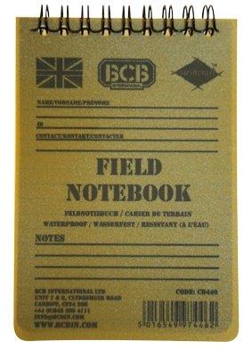 BCB Adventure Field Notebook