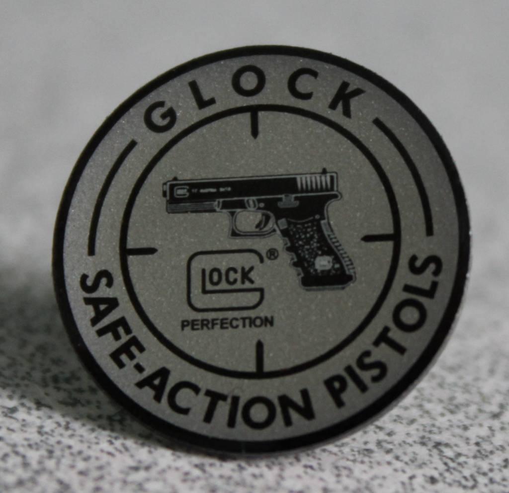 Glock Metallic Safe-Action Pistol Hat Pin