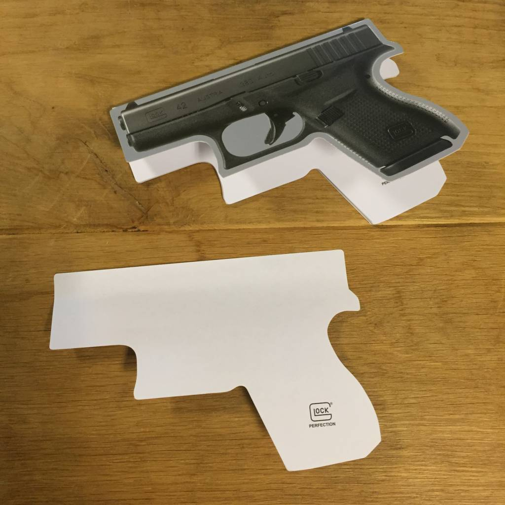 Glock 42 Post-it