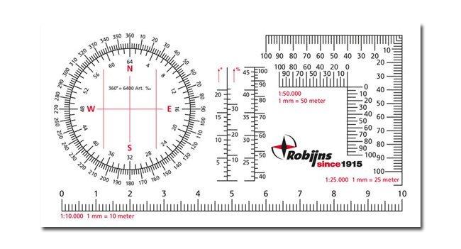 Outdoorgear Kaarthoekmeter