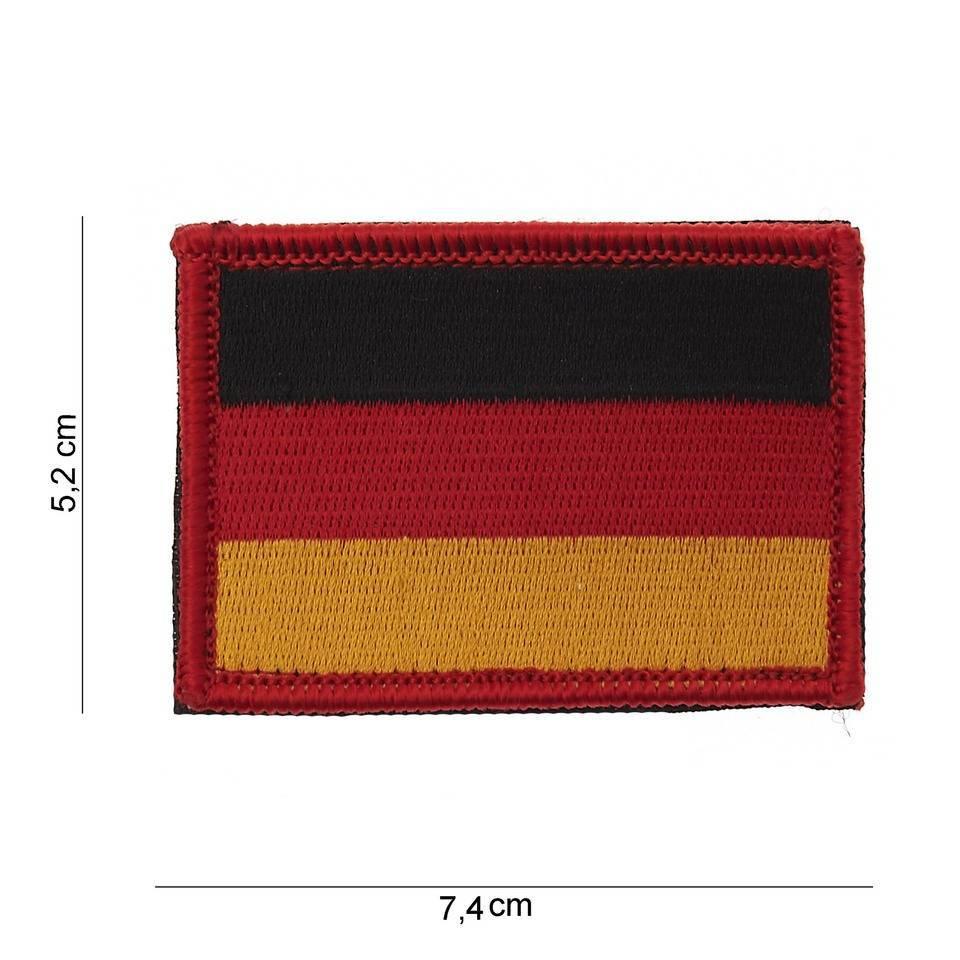 Fostex Landenvlagpatch met klitteband