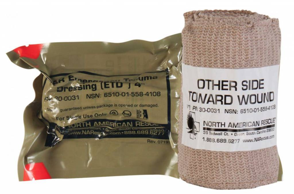 Medicall Supplies NAR Emergency Trauma Dressing 4 inch