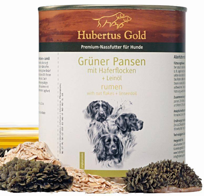 Hubertus Gold Hubertus Gold menu groene pens