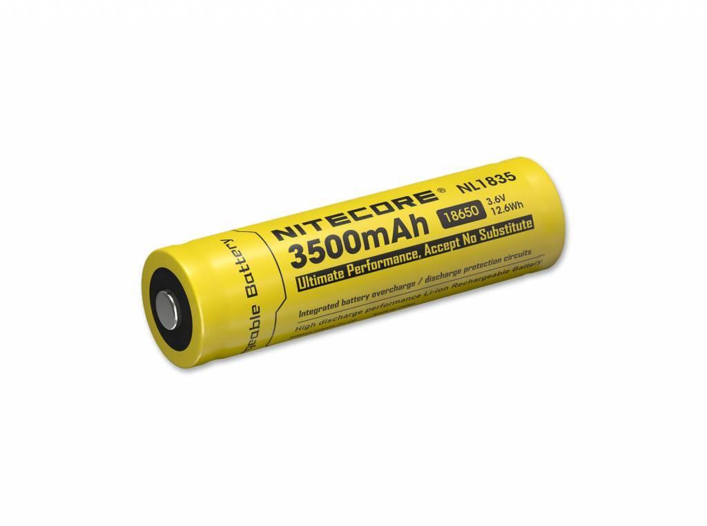 Nitecore Battery 3500 mAh.
