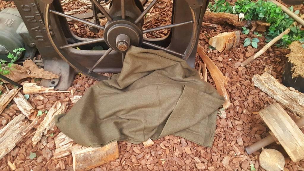 Ex Defensie Wool Blanket