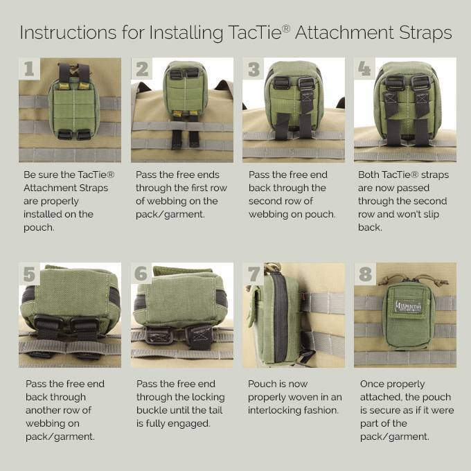 Maxpedition TacTie Attachment Strap (3 inch)
