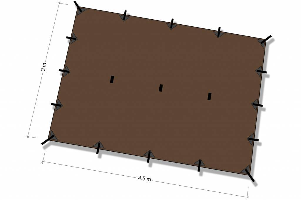 DD Hammocks Tarp XL (4.5 x 3)