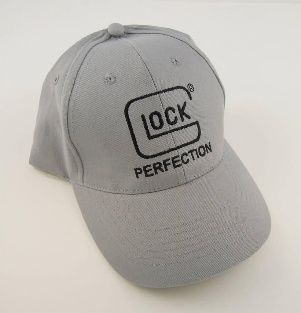 "Glock Cap ""Perfection"" Low Crown Grey"