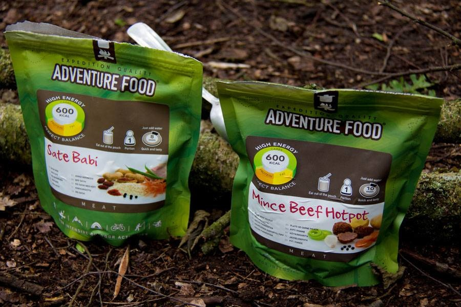 Adventure Food Survival School Overleven maaltijdpakket (4 daags)