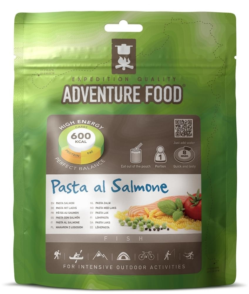 Adventure Food Pasta Salmone