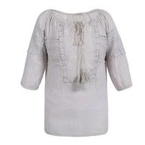 Ibiza blouse creme