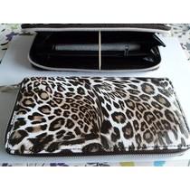 Musthave portemonnee bruin leopard