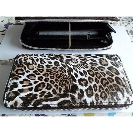 Musthave portemonnee bruin leopard