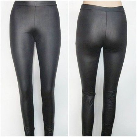 Legging latex matt