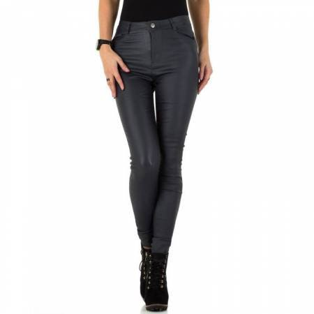 Coated broek donker grijs | || Most Wanted Fashion ||