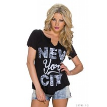 Shirt zwart new york city