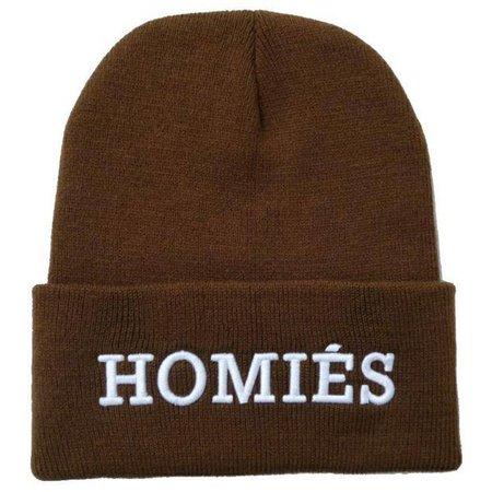 Homie Beanie Muts - Brown