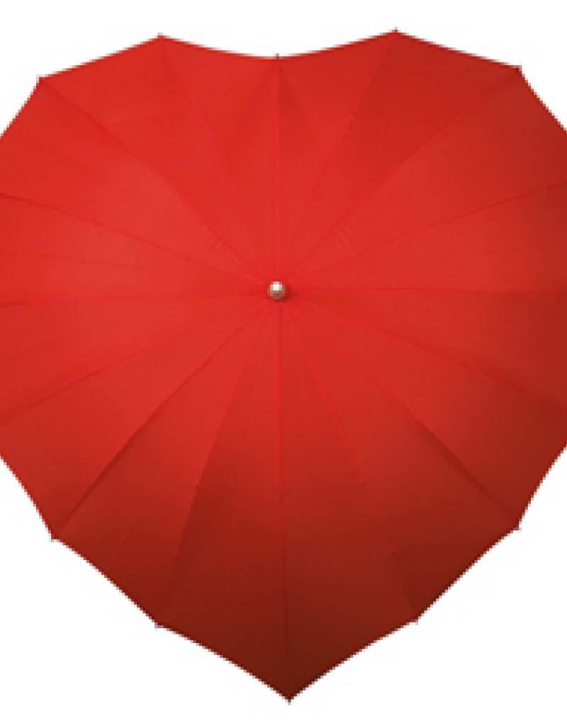 Falcone® Hartvormige Paraplu - Diverse Kleuren