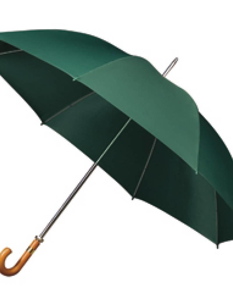 Basic Golfparaplu met houten haak