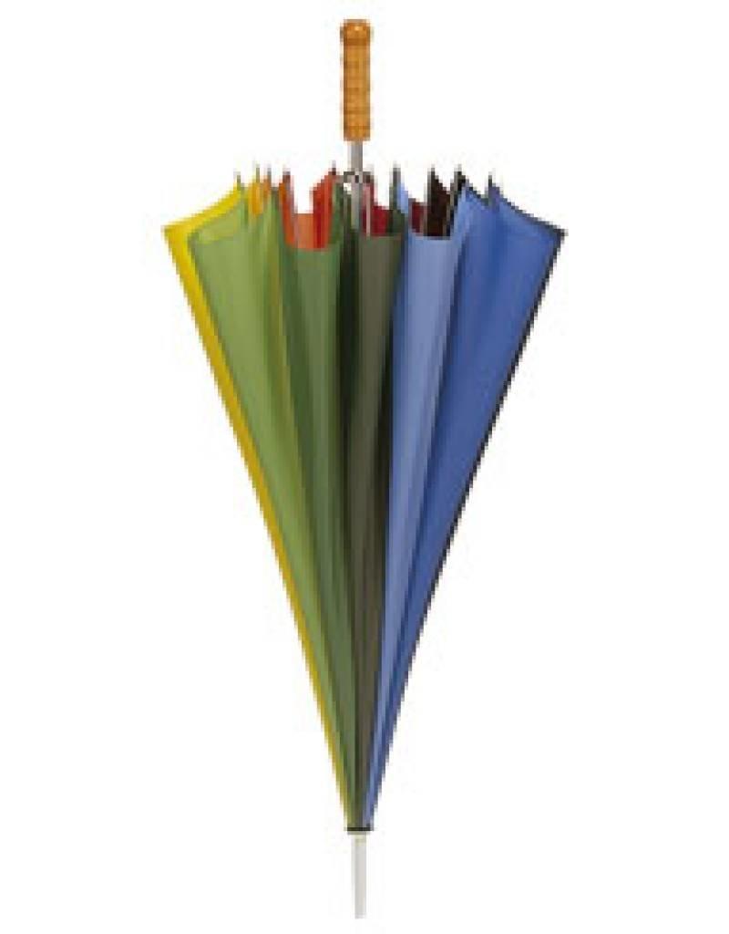 Falcone® Golf Paraplu - Regenboogkleuren