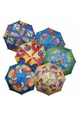 8 baans kinderparaplu met safety frame