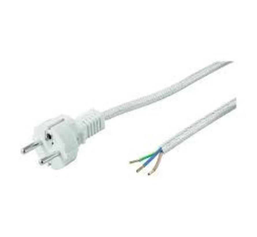 Stromkabel mit Stecker 3-polig 1,5mm²