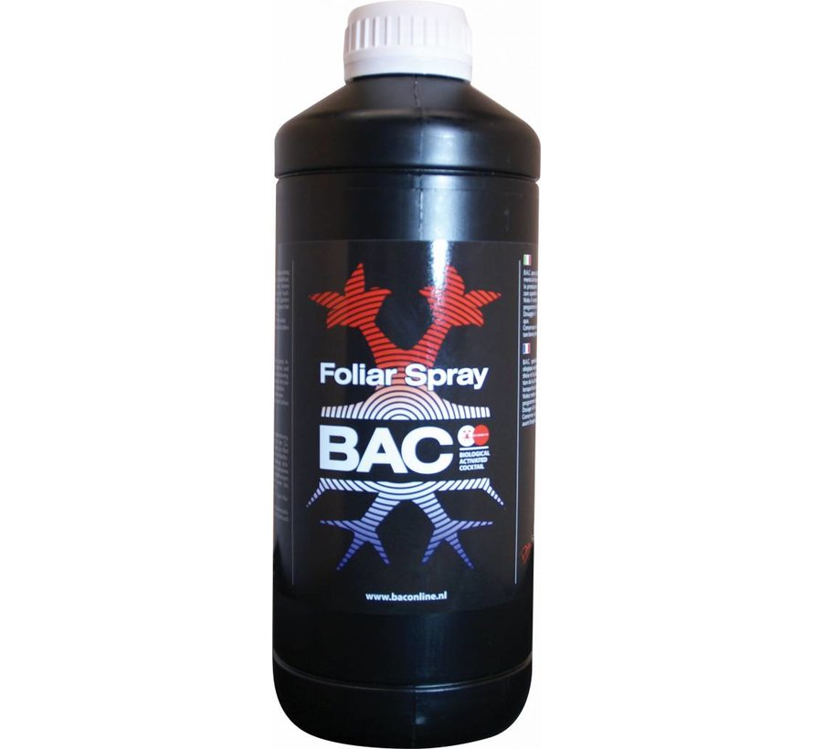 BAC Organic Foliar Spray Blattdünger 120 ml