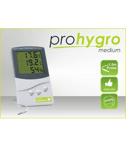 Hortiline Thermo Hygrometer Medium