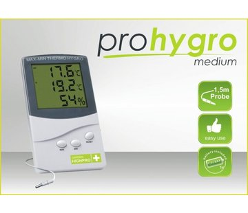 Garden High Pro Thermo Hygrometer Medium