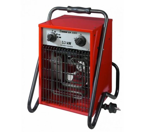 Eurom Heizlüfter Thermostat 3300 Watt