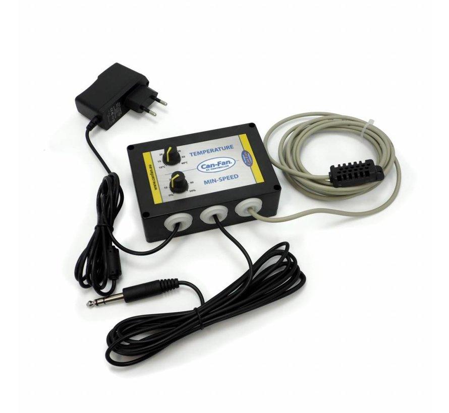 Can Fan  Max Fan Pro EC Controller Speed Temperature