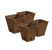 Jiffy Pot 8x8x8 100 Stück