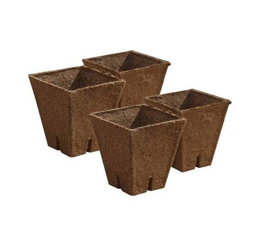 Jiffy Pot vierkant 8x8x8 100 Stück