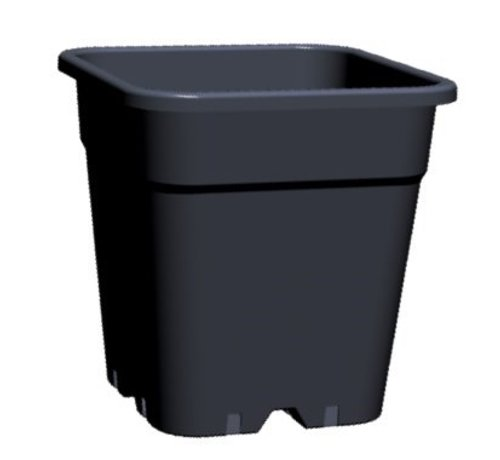 Pflanzen Topf - viereckig 18 Liter
