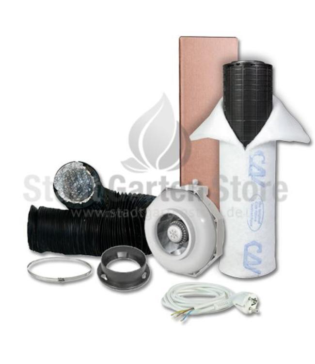 Can Fan  RK 100 Rohr Lite 300PL Filter Abluft Set Ø100mm 240m³/h