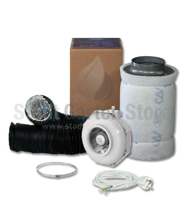Can Fan  RK 200 Rohr Lite 1000 Filter Abluft Set Ø200mm 820m³/h