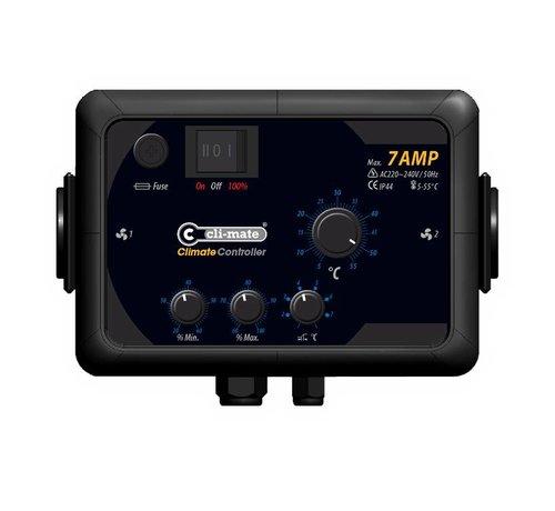 Cli-mate Klima Controller 7A, 12A oder 16A KC2011-T Serie