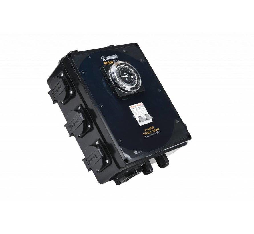 Cli-mate VOI-Box RC-2010D Serie 8 x 600 Watt