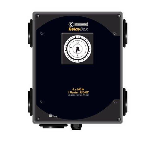 Cli-mate VOI-Box RC-2010D Serie 4 oder 8 x 600 Watt Schaltkast