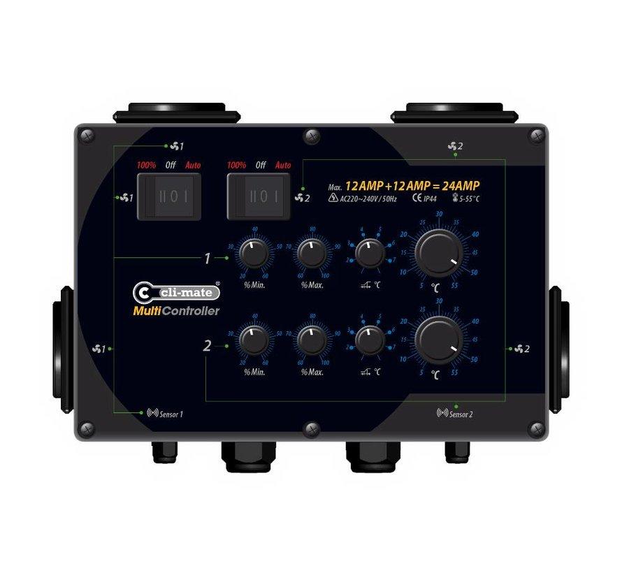 Cli-mate Multi Controller 7A, 12A oder 16A MC Serie