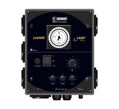 Cli-mate Mini Regler 2x 600 Watt