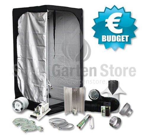 Mammoth Lite 80 Budget Growbox Komplettset 400W 80x80x160