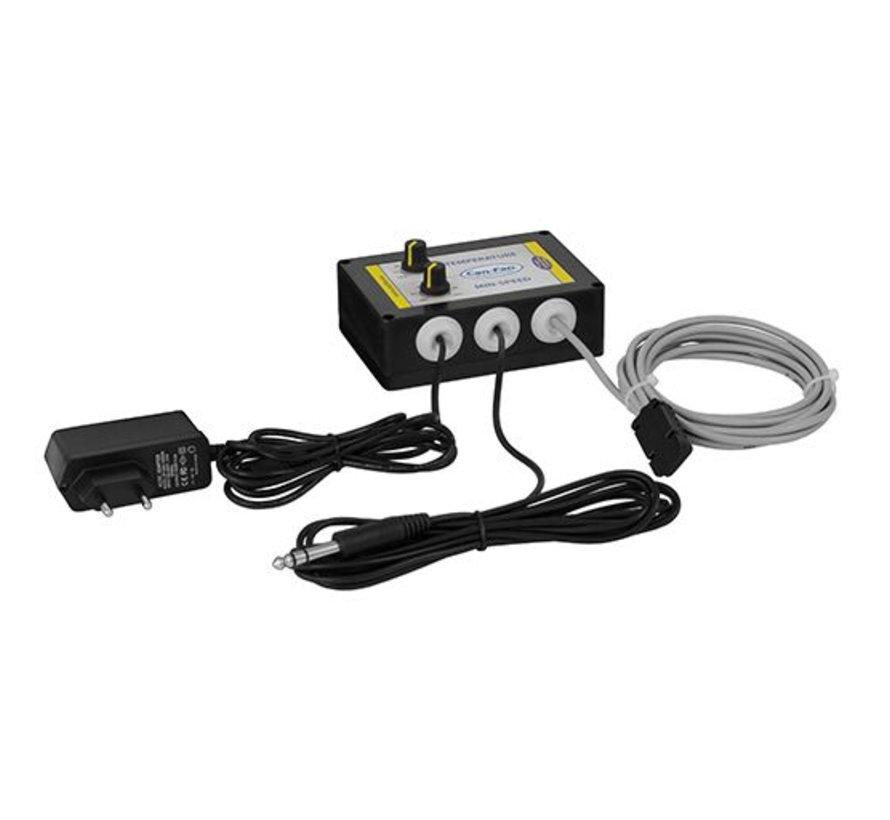 Can Fan  Max Fan Pro EC Controller Speed