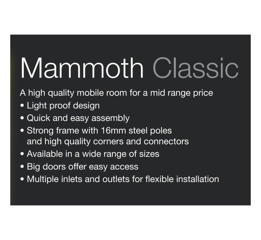 Mammoth Classic 120 Growbox 120x120x200
