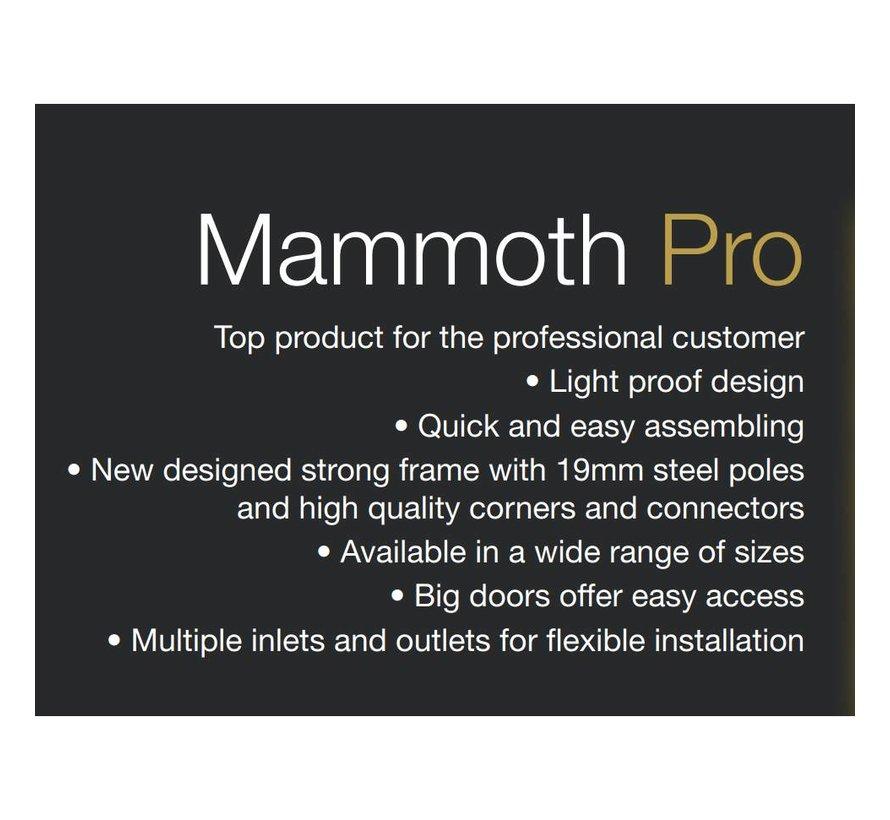 Mammoth Pro 120 Growbox 120x120x200
