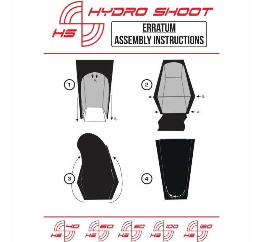 Secret Jardin Hydro Shoot 120 R2 Growbox 120x120x200